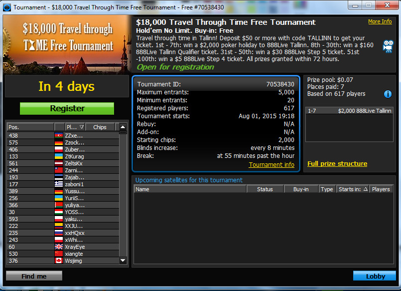 888 Poker Login Australia