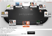 PartyPoker screenshot