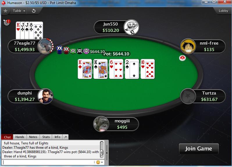 Australia Pokerstars